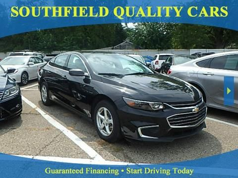 2017 Chevrolet Malibu For Sale At Southfield Quality Cars In Detroit Mi Chevrolet Malibu Malibu For Sale Chevrolet