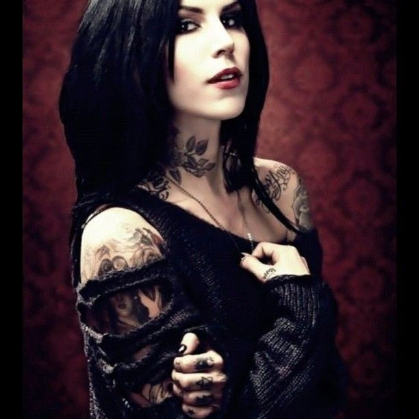 Flower Tattoo Kat Von D: 260 Best Kat Von D Images On Pinterest