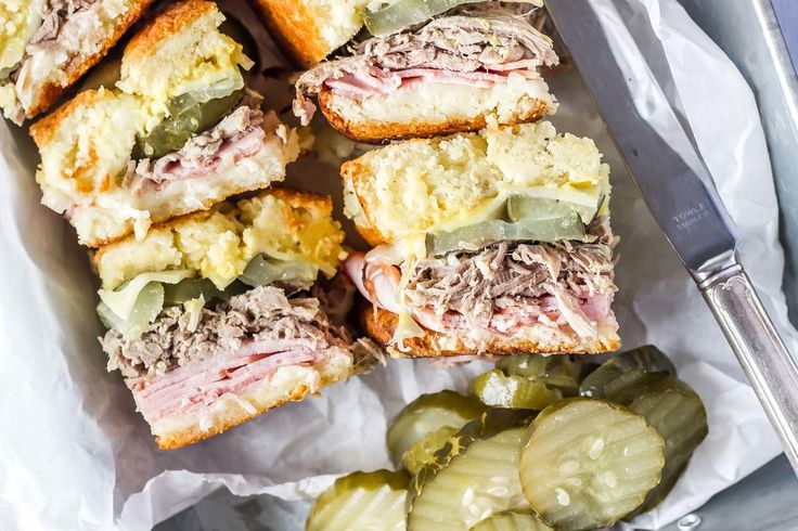 "No, you're not hallucinating nor are these a mirage, they really are Keto Cuban Sliders and they are insanely delicious.  I love a good Cuban sandwich, but if you ask me what my favorite kind of sandwich is, I'd tell you, ""the one in my hand"".  I've always loved sandwiches and being able to"