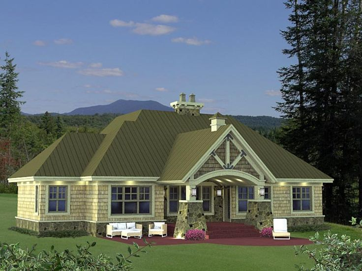 House plan 42652 1 971 square foot home 1 story 3 for 2000 sq ft craftsman house plans