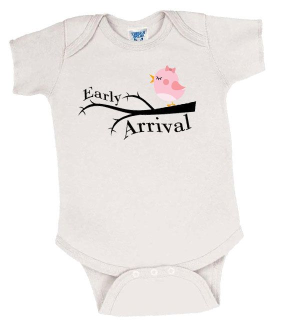 Early Arrival Preemie Girl's Onesie, Preemie Bodysuit, Preemie Girl Onesie, Preemie Girl Clothes, Preemie Girl Clothing, Preemie Baby Girl by EarlyArrivalBoutique on Etsy