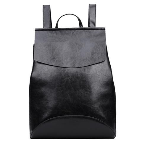 40fef6f0098d 2018 Fashion Women Backpack PU Leather Backpacks for Teenage Girls High  Quality Backpacks Female School Shoulder Bags Mochila
