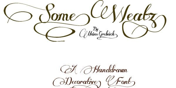 This free collection includes elegant cursive fonts for tattoos in diverse styles, featuring everything from Old English designs to cool girly ones. Description from antisocialmediallc.com. I searched for this on bing.com/images