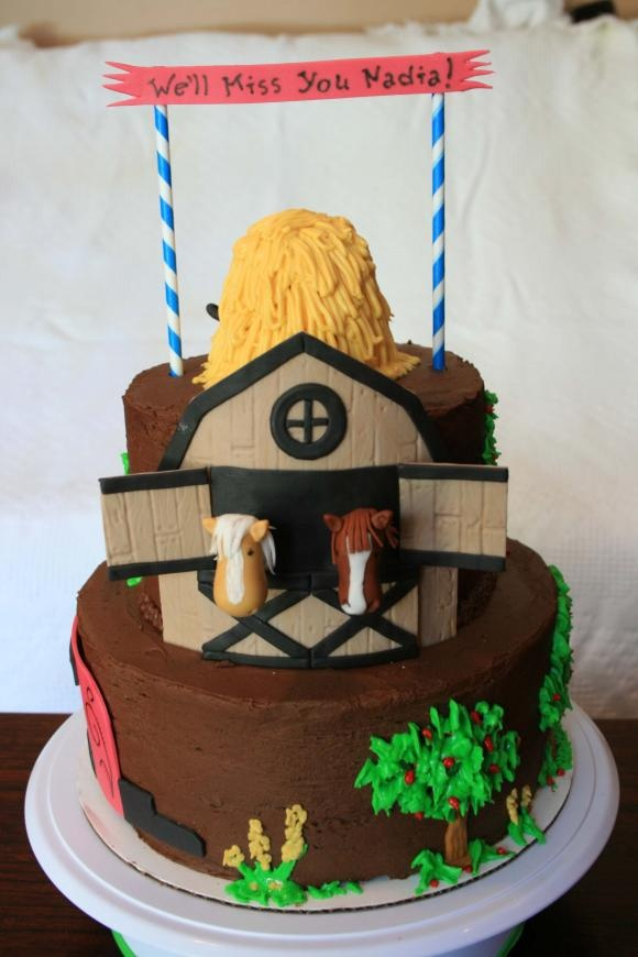 Another horse cake...    Candace Collins