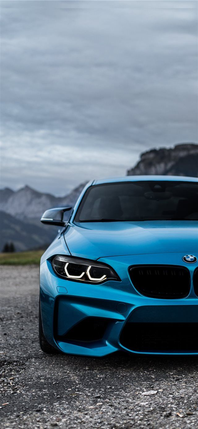 Bmw Blue Cars Wallpapers Murdered Out M2 F87 Iphone X Wallpaper Mountains Car