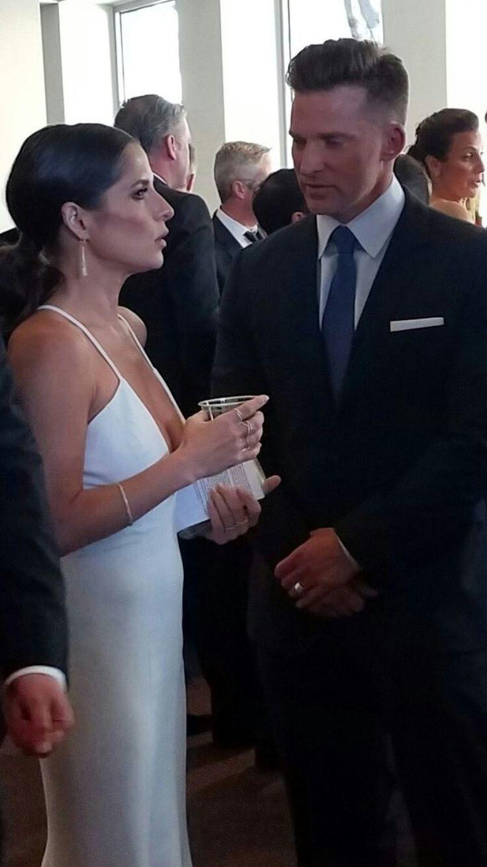 General Hospital | Kelly Monaco (Sam) and Steve Burton (Jason) #JaSam at the 2017 Daytime Emmys