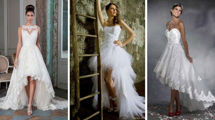 10+ Vestidos de Noiva Mullet