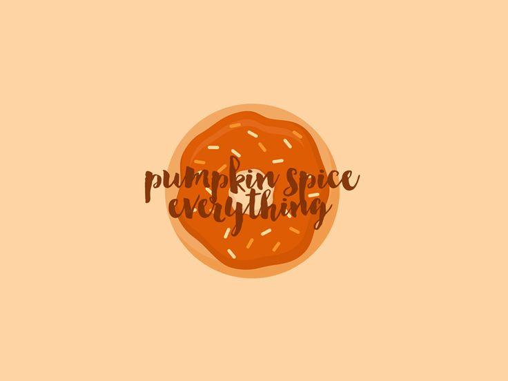 Desktop Wallpaper for September - Pumpkin Spice Everything ...