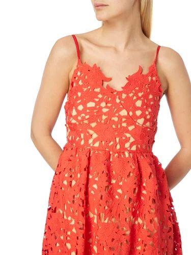 Kleid aus floraler Häkelspitze Vero Moda online kaufen - 1