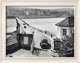 The Teignmouth-Shaldon Toll Bridge, over the River Teign, Devon, England Photographic Print - AllPosters.co.uk