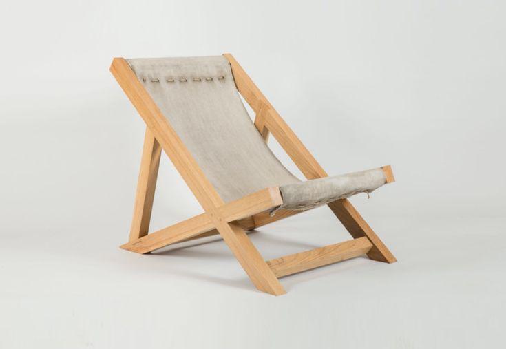 Concrete Canvas Deckchair. Discover @Treniq - www.treniq.com