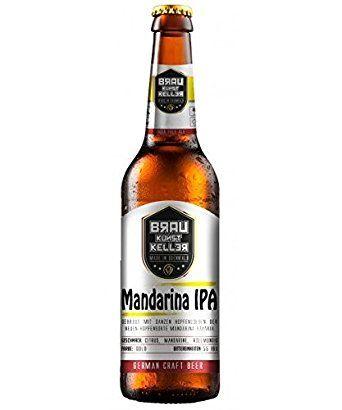 Braukunstkeller Mandarina IPA India Pale Ale (12 x 0.33 l) India Pale Ale.  Made in Odenwald