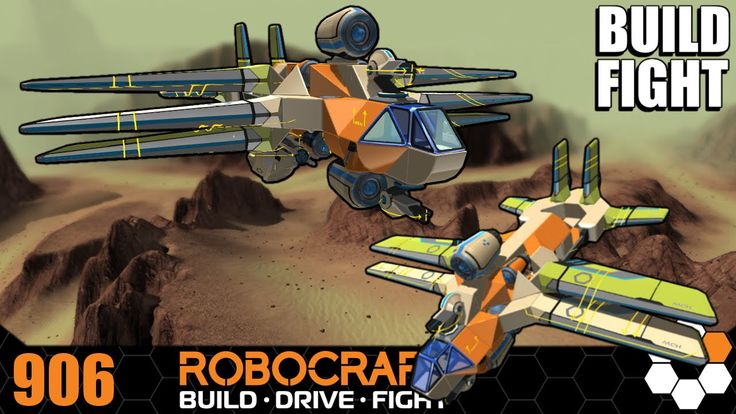 Robocraft - 10x Crates Combat and Build 'Raven' Plasma Bomber