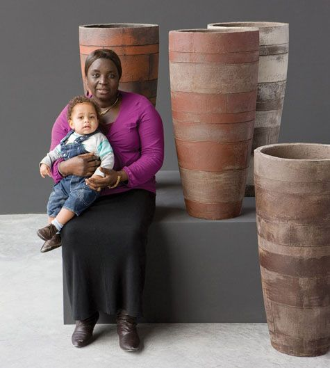 Atelier Vierkant is a versatile producer of handmade clay planters and pots…