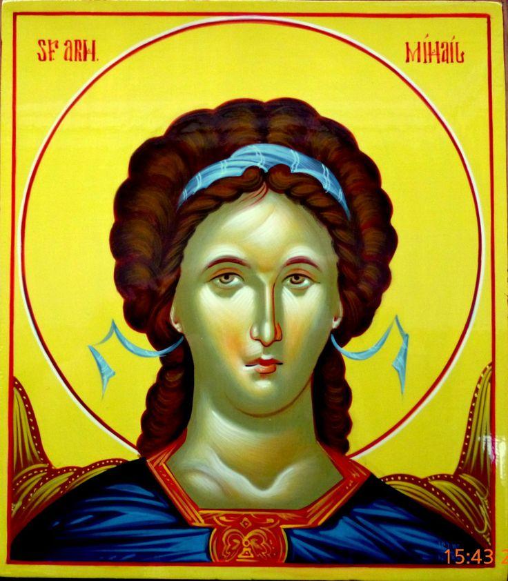 Byzantine Iconography - Angels  SFANTTUL ARHANGHEL MIHAIL
