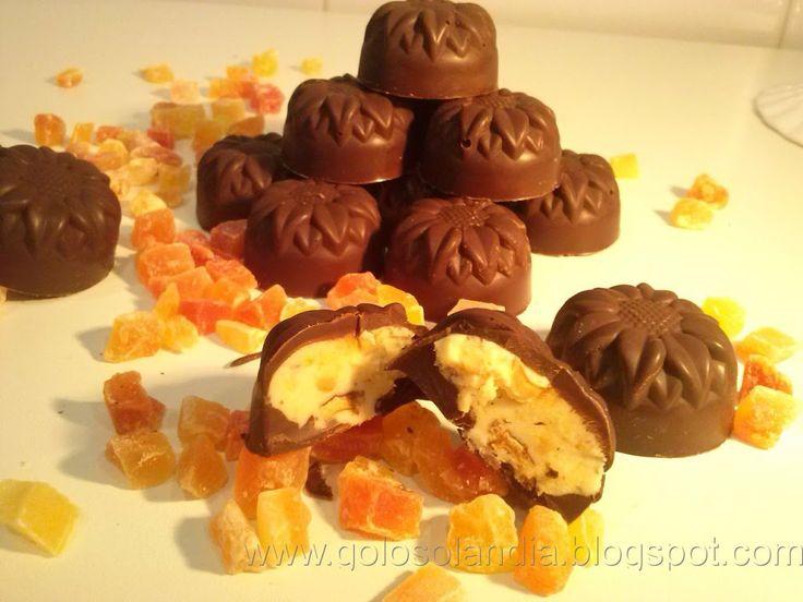 Bombones de chocolate rellenos caseros , receta casera. Aprende a preparar chocolates rellenos en casa de manera fácil paso a paso. Como hacer y disfrutar.