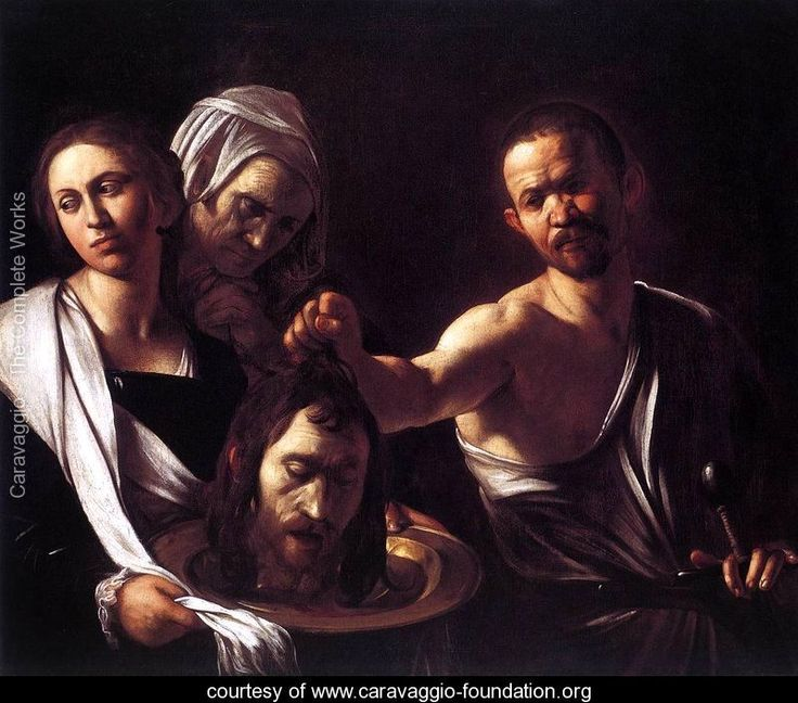 Salome with the Head of St John the Baptist c. 1607