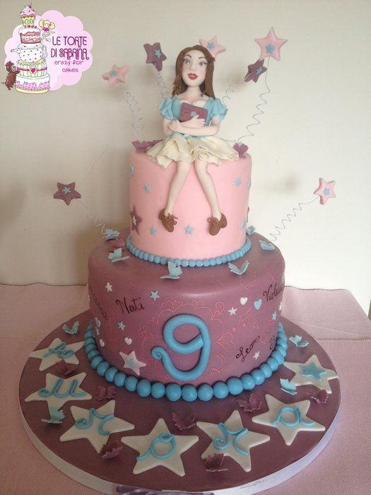 Violetta cake by Le torte di Sabrina - crazy for cakes