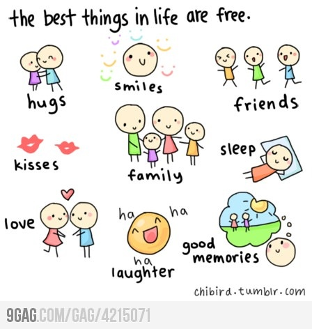 the best things in life are free: Thoughts, Life, Stuff, Sotrue, Happy, Free Things, So True, Living, Inspiration Quotes
