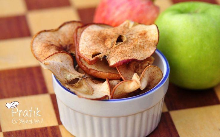 tarçınlı elma cipsi