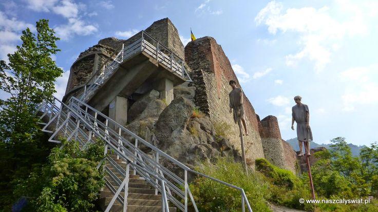 Zamek Poenari (Poenari Castle)