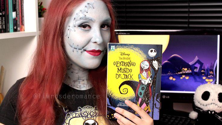 maquiagem make up halloween sally o estranho mundo de jack / nightmare before christmas