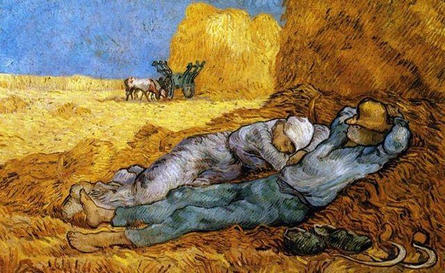 Sevginin Yeniden Doğduğu Yerde Yaşam Yeniden Başlar / Van Gogh