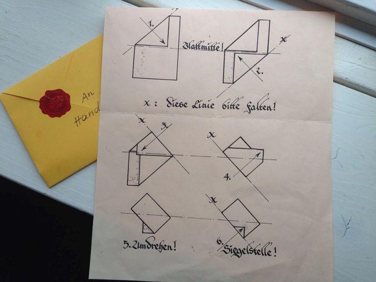 Briefe Falten Umschlag Anleitung Briefe Kunstvoll Falten Einen