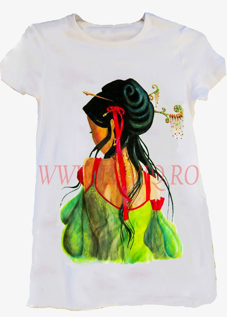 Tricou pictat JAPANESE 5     www.laviq.ro www.facebook.com/pages/LaviQ/206808016028814