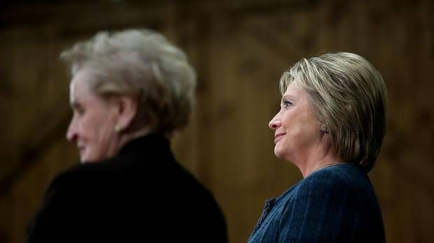 """""""Young feminists don't need to be told who to vote for."""" Hillary's a supporter of all women, just ask that long allegation list of  her husbands sexually assaulted victims."""