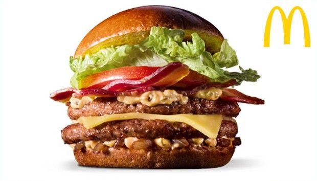 Os hambúrgueres mais calóricos dos fast-foods brasileiros - Mais 40 Bem Cuidado