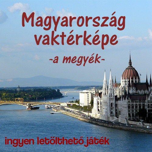Magyarország megyéi vaktérkép
