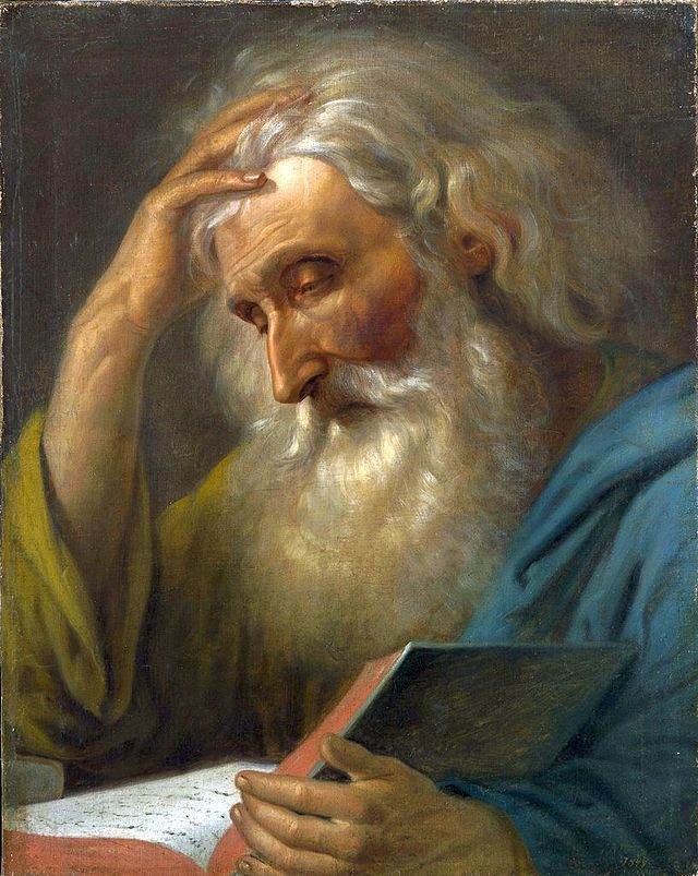 Portret de călugăr