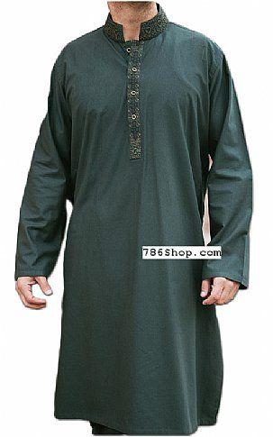 Teal Men Shalwar Kameez Suit | Buy Pakistani Indian Dresses