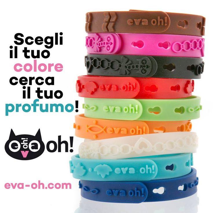 TI AVVOLGE E TI TRAVOLGE Scegli il tuo #colore e cerca il tuo #profumo!  www.eva-oh.com