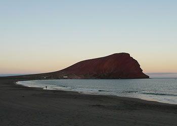 Zonsondergang bij Red Mountain