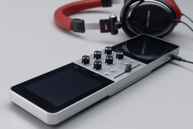 Portable DJ (PDJ) by JD Sound.   The world's first stand-alone portable DJ system & music production studio. Mix, match, scratch, and producer your own beats.  12 hour battery life so you can create and share music whenever you need it wherever you want it.