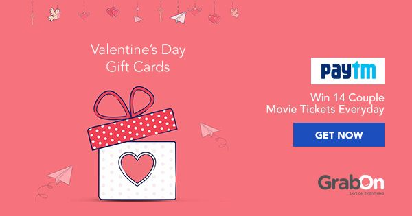 How about a #movie date for #ValentinesDay? Win couple tickets from #Paytm.
