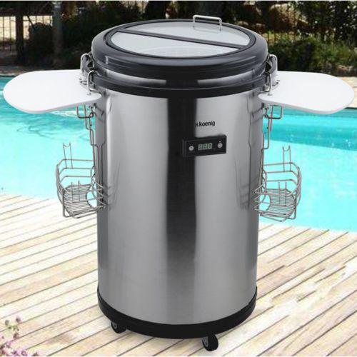 H.Koenig Bpo505 Bar Refrigere D'EXTERIEUR Sur Roulettes Achat / Vente Réfrigérateur pas cher - RueDuCommerce