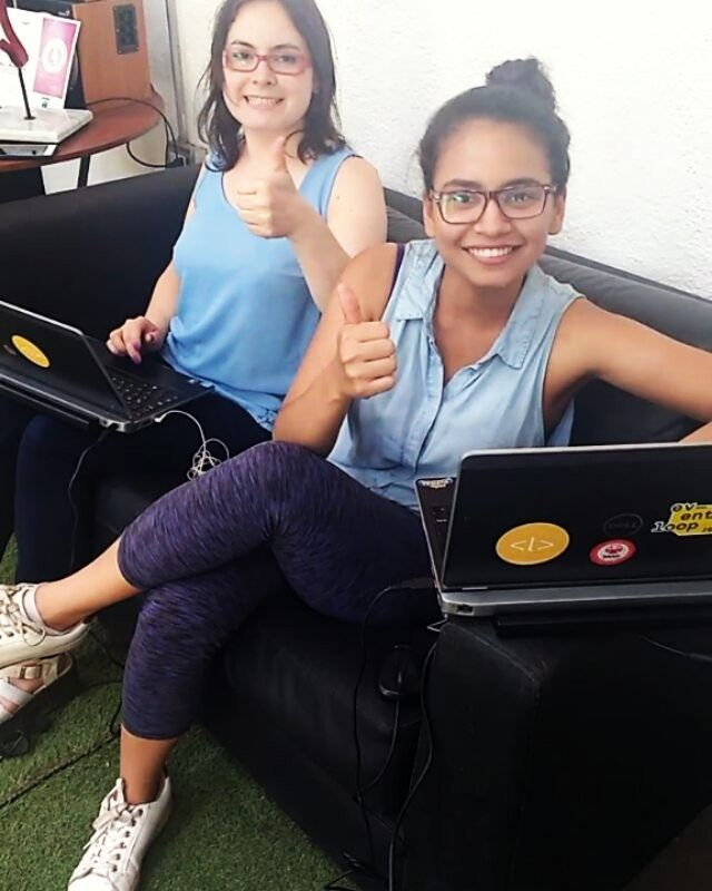 Las coders ya votaron por Marisol Alarcón representando a Laboratoria en http://ift.tt/2hLZl63 tú también puedes! Ingresa ya y vota hoy por el proyecto que se dedica a transformar la vida de las mujeres dándoles la oportunidad de trabajar en la industria digital! #instachile #chile #santiago #recoleta #programmers #coders #programacion #codigo #html #css #javascript #jquery #js #fff #tvn