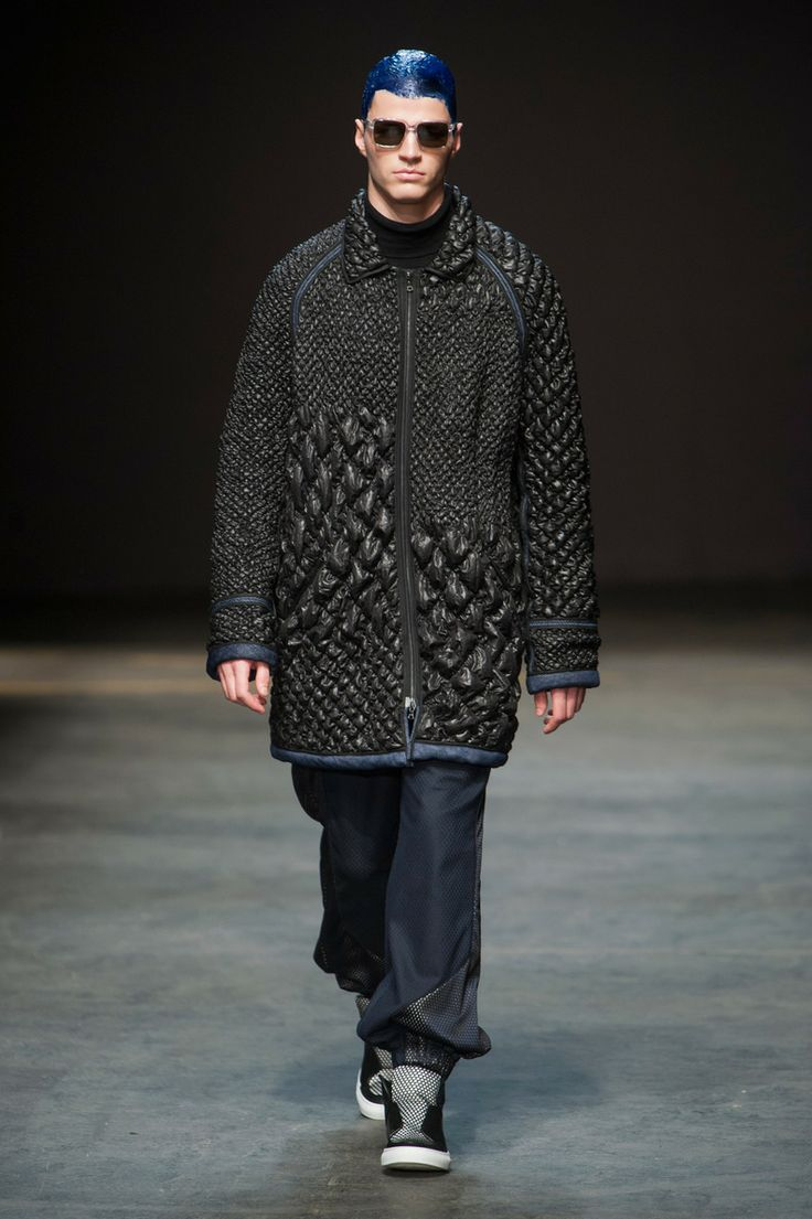 Défile James Long, homme automne-hiver 2014-2015, Londres. #LFW #fashionweek #runway