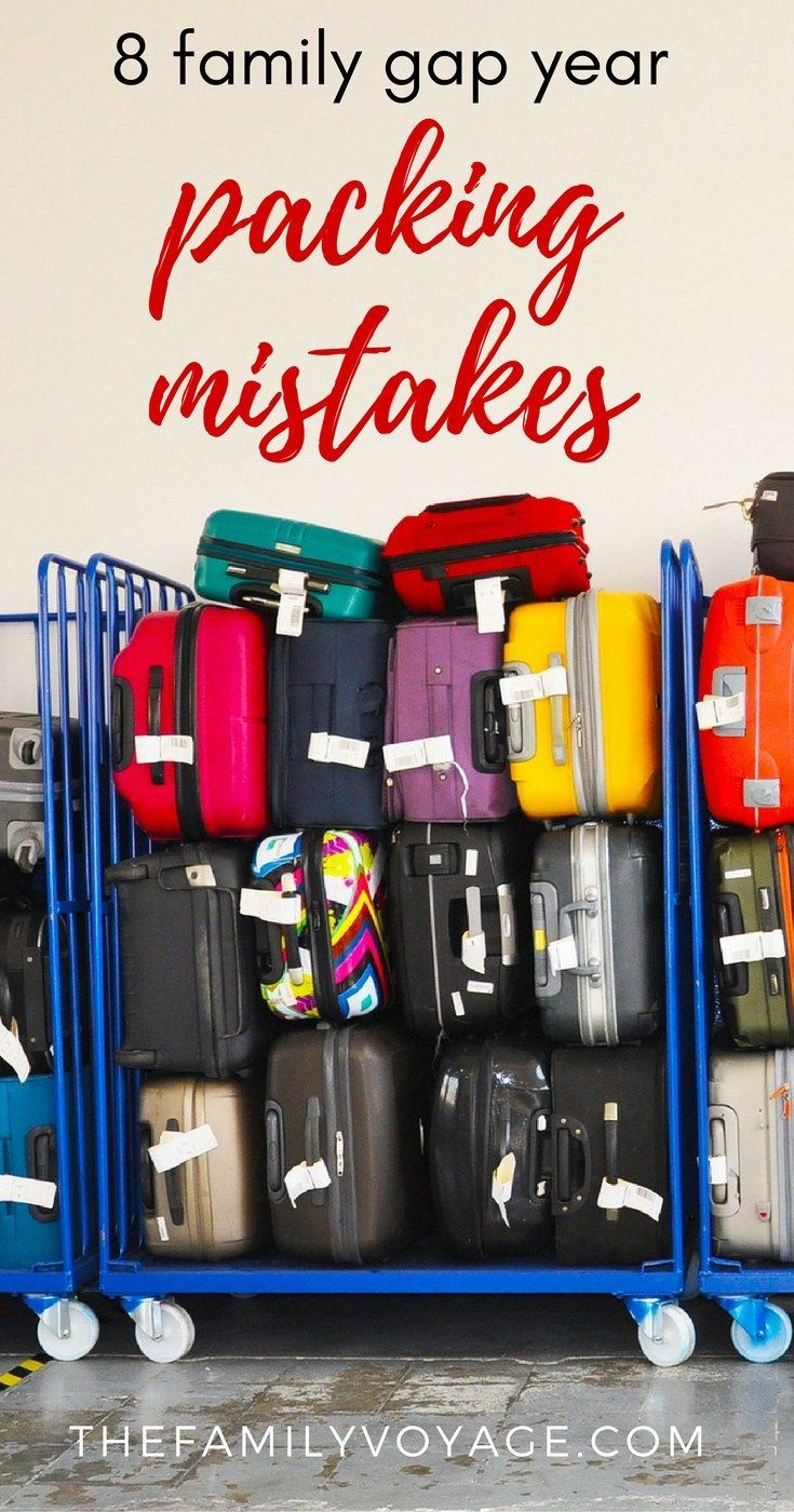 We made some big mistakes when we packed for our family gap year trip around the world! Want to read about them and laugh at us? You'll also find out what we did right and what YOU should bring for the whole family. Click to read more and start making YOUR rtw packing list. Pssst... we have a packing list for women, a packing list for men and even a packing list for kids! #packing #familytravel #gapyear #rtwtrip