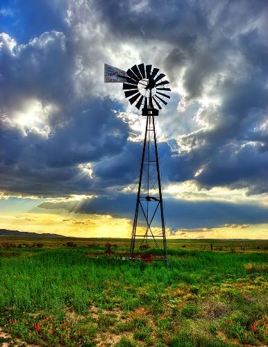 a windmill for my garden...