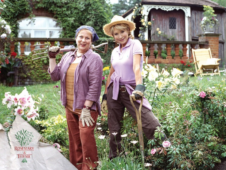 Love this show gardeners laura thyme pam ferris and rosemary boxer felicity kendal run Gardening tv shows online