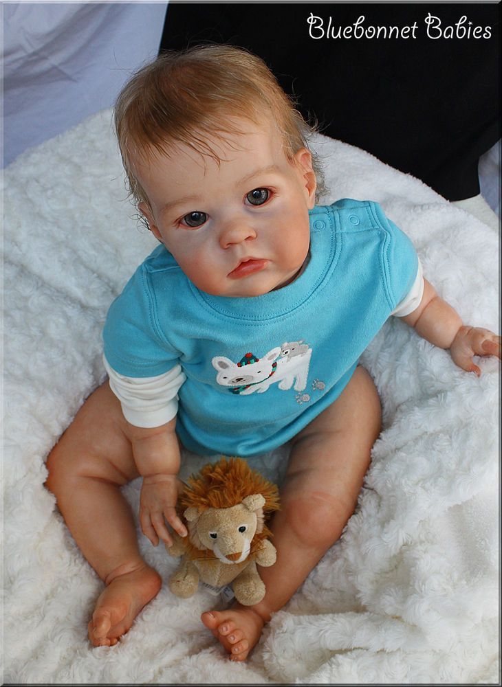 """❀Bluebonnet Babies❀ REBORN BABY Bonnie Brown""""Sharlamae"""" NOW Toddler BOY~SOLD OUT"""