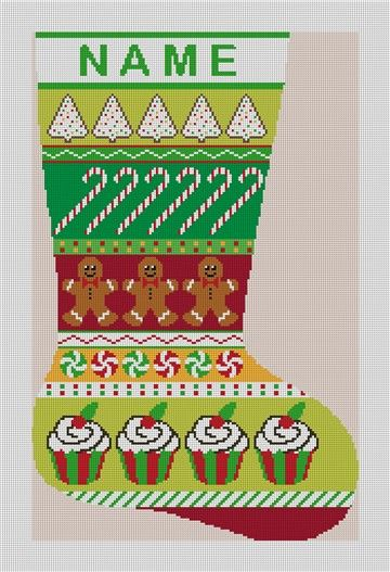 Needlepoint Stocking Patterns 19