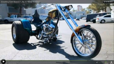 The Dragon Trike From Counting Cars Love Detail 3 Wheels Drift Motorcycle