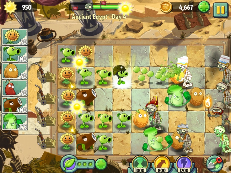 Hands-on with the next-generation of the popular game Plants vs. Zombies, Plants vs. Zombies 2: It's About Time.