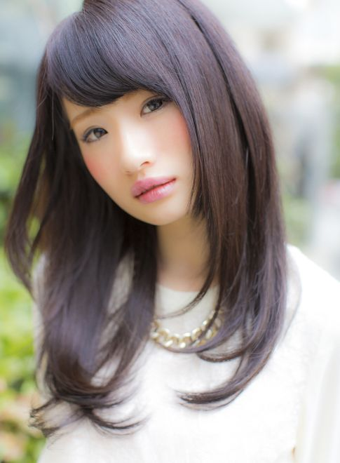 ニュアンスストレート  【miq Hair&Make up 池袋店】 http://beautynavi.woman.excite.co.jp/salon/21157?pint ≪ #longhair #longstyle #longhairstyle #hairstyle ・ロング・ヘアスタイル・髪型・髪形≫