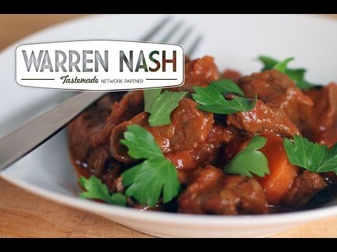 Tefal Cuisine Companion Recipes – Beef Stew - Recipes by Warren Nash - YouTube
